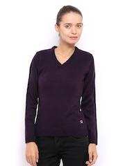 Fila Women Purple Sweater