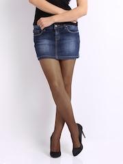 Fiore Dark Brown Klara Bikini Stockings