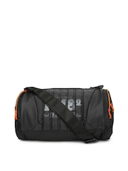 Flying Machine Men Black Duffle Bag