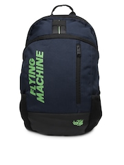 Flying Machine Men Blue Backpack