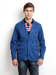 Flying Machine Men Blue Jacket