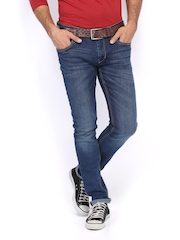 Flying Machine Men Blue Michael Slim Tapered Fit Jeans