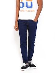 Flying Machine Men Dark Blue Michael Slim Fit Jeans