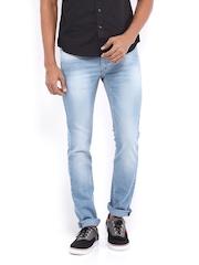 Flying Machine Men Blue Jackson Skinny Fit Jeans