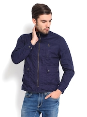 Flying Machine Men Navy Jacket
