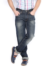 Flying Machine Men Navy Prince Slim Fit Jeans