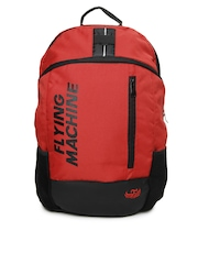Flying Machine Men Red Backpack