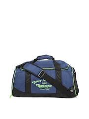 Flying Machine Unisex Blue Duffle Bag