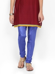 Folklore Women Blue Churidar
