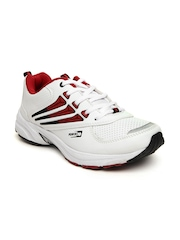 Force 10 Men White LIS-1502 Running Shoes