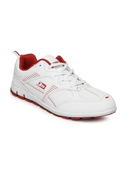 Force 10 by Liberty Men White Sports Shoes