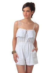 Forever New Women White Playsuit