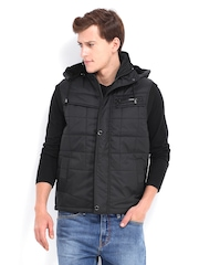 Fort Collins Men Black Padded Jacket