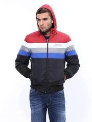 Men Multicoloured Hooded Jacket Fort Collins