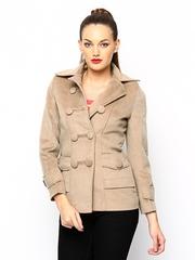 Fort Collins Women Beige Coat