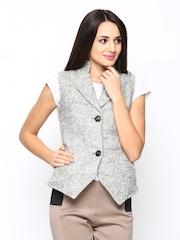 Fort Collins Women Grey Waistcoat