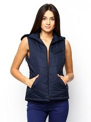 Fort Collins Women Navy Sleeveless Jacket