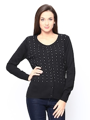 Fort Collins Women Black Sweater