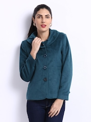Fort Collins Womne Teal Green Coat