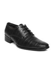 Fortune Men Black Formal Shoes
