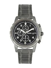 Fossil Men Black Dial Chronograph Watch FS4721