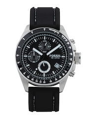 Fossil Men Black Dial Chronograph Watch CH2573I