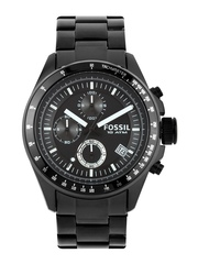Fossil Men Black Dial Chronograph Watch CH2601I