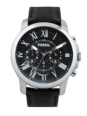 Fossil Men Black Dial Chronograph Watch FS4812I