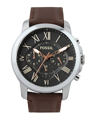 Fossil Men Black Dial Chronograph Watch FS4813I