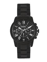 Fossil Men Black Dial Watch FS4832I