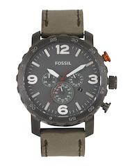 Fossil Men Grey Dial Chronograph Watch JR1419I
