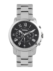 Fossil Men Black Dial Watch FS4907I