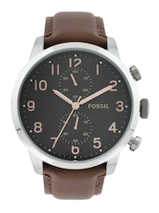 Fossil Men Black Dial Watch FS4873I