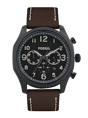Fossil Men Black Dial Watch FS4887I