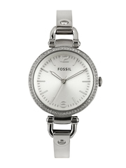 Fossil Women Silver Toned Dial Watch ES3225I