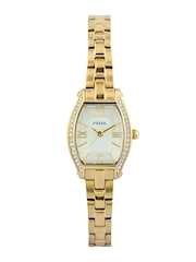 Fossil Women Cream Coloured Dial Watch