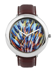 Fosters Men Multi-Coloured Dial Watch