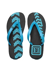 Franco Leone Men Blue Flip Flops