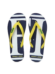 Franco Leone Yellow Flip Flops