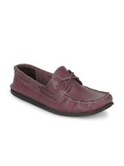 Franco Leone Men Purple Shoes