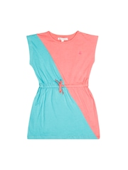 French Connection Girls Pink & Blue Dress