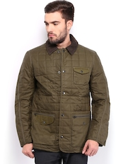 French Connection Men Green Padded Jacket