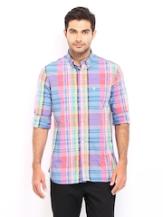French Connection Men Multi-Coloured Checked Casual Shirt