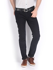 French Connection Men Navy Super Skinny Fit Jeans