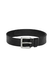 Fume Unisex Black Belt