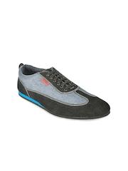 Funk Men Black & Grey Casual Shoes