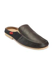 Funk Men Brown & Black Casual Shoes