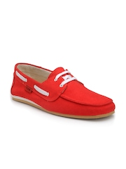 Funk Men Red Boat Shoes