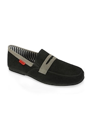 Funk Men Black Loafers