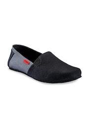 Funk Men Black Casual Shoes
